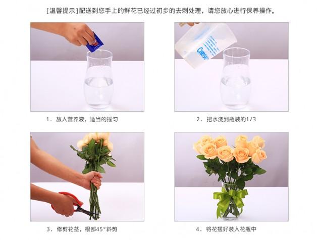 鲜花养护方法