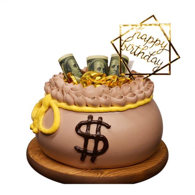 暴富蛋糕图片